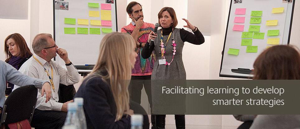 facilitating learning to develop smarter strategies